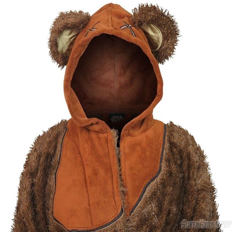 Women's ewok fleece bathrobe available at SuperHeroStuff