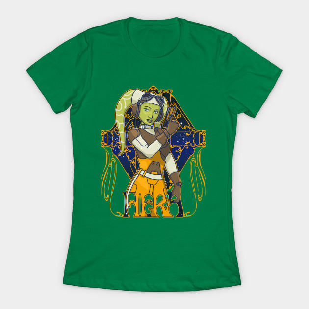 Women's Hera Syndulla t-shirt available at TeePublic