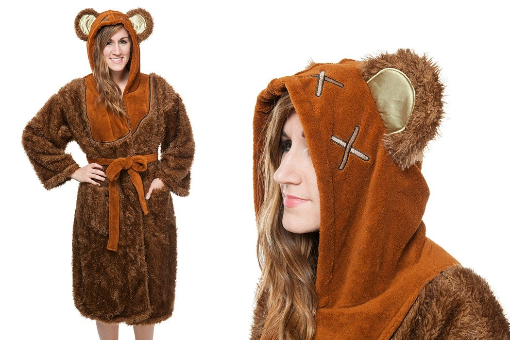 Women's ewok bathrobe at ThinkGeek