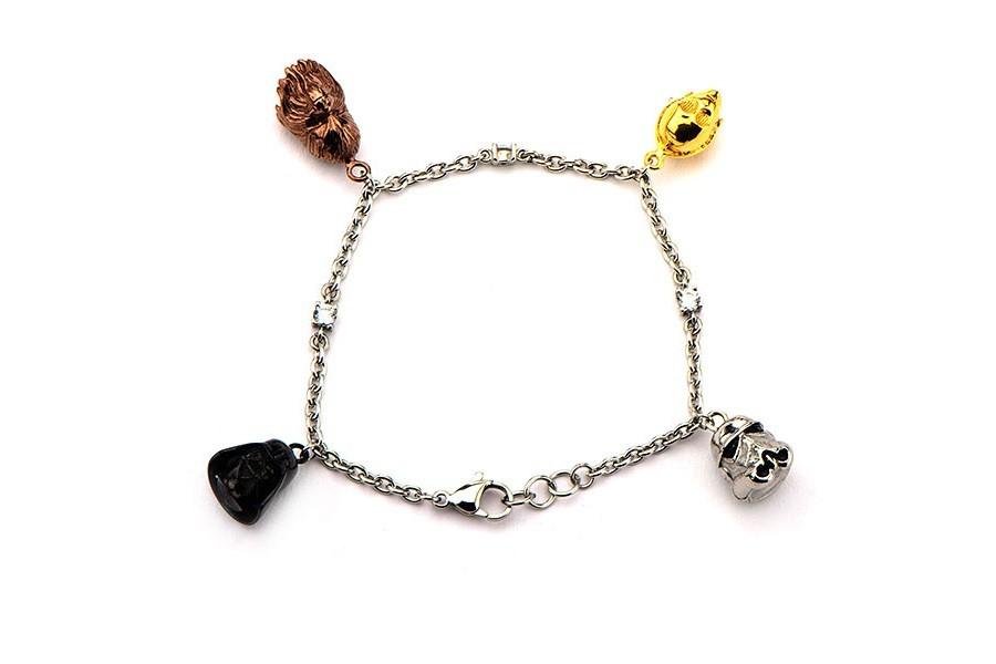 Star Wars charm bracelet at ThinkGeek