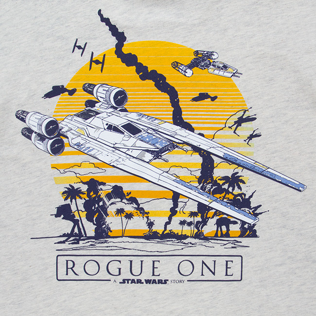 Women's Rogue One vintage t-shirt available at ThinkGeek