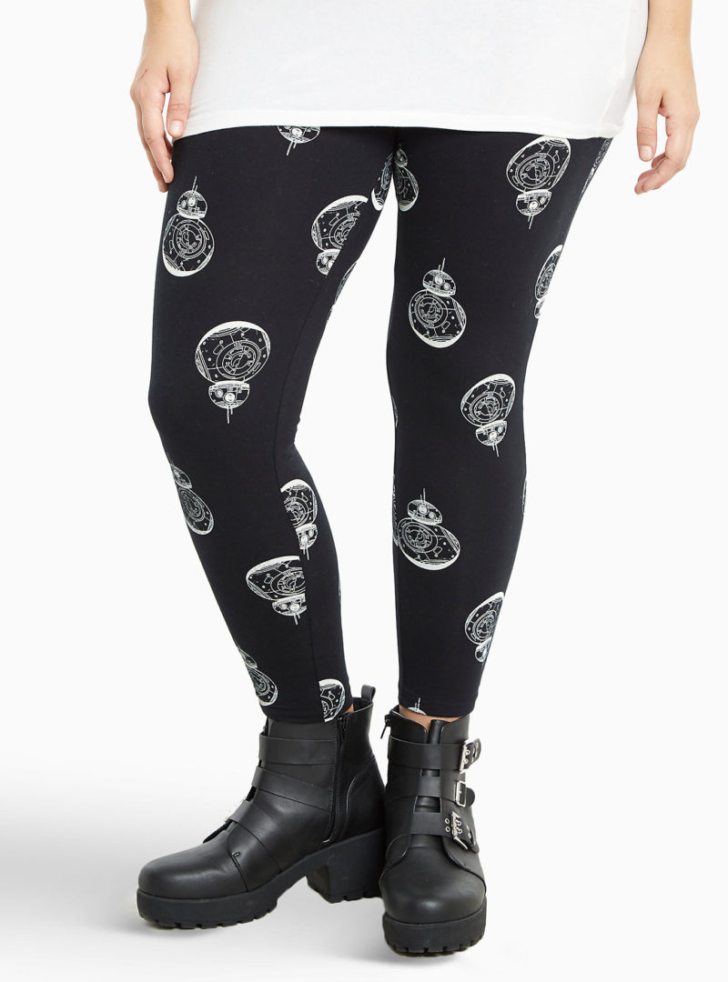 Women's Star Wars BB-8 plus size leggings available at Torrid