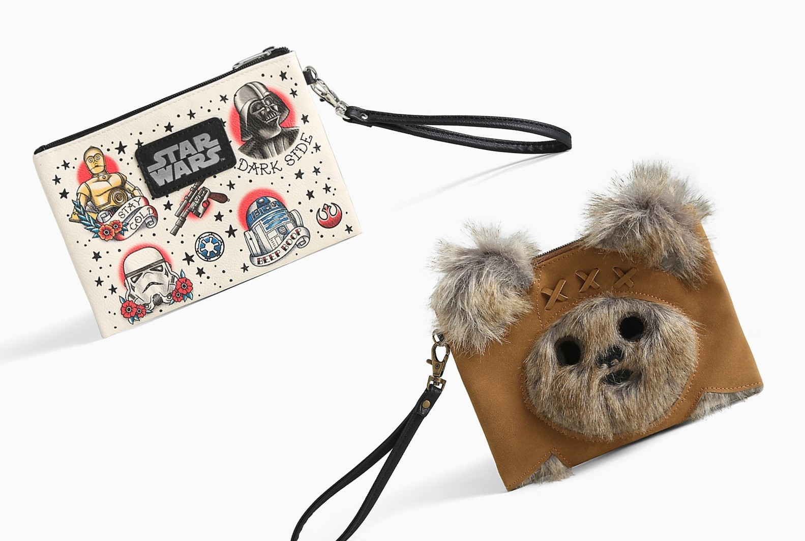 New Loungefly Star Wars clutches