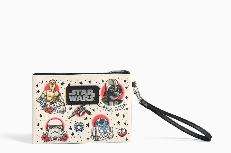 Loungefly x Star Wars tattoo clutch available at Torrid