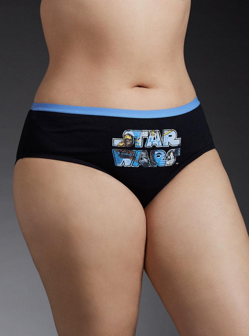 Women's plus size Star Wars logo hipster panty at Torrid