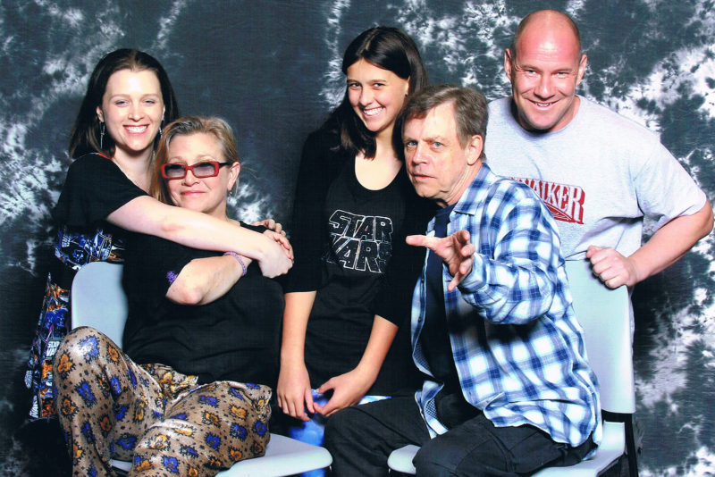 Meeting Carrie Fisher and Mark Hamill at Celebration Anaheim 2015