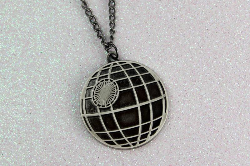 Bioworld x Star Wars Death Star necklace