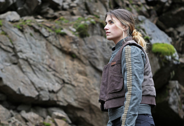 Columbia x Star Wars Rogue One women's Jyn Erso jacket