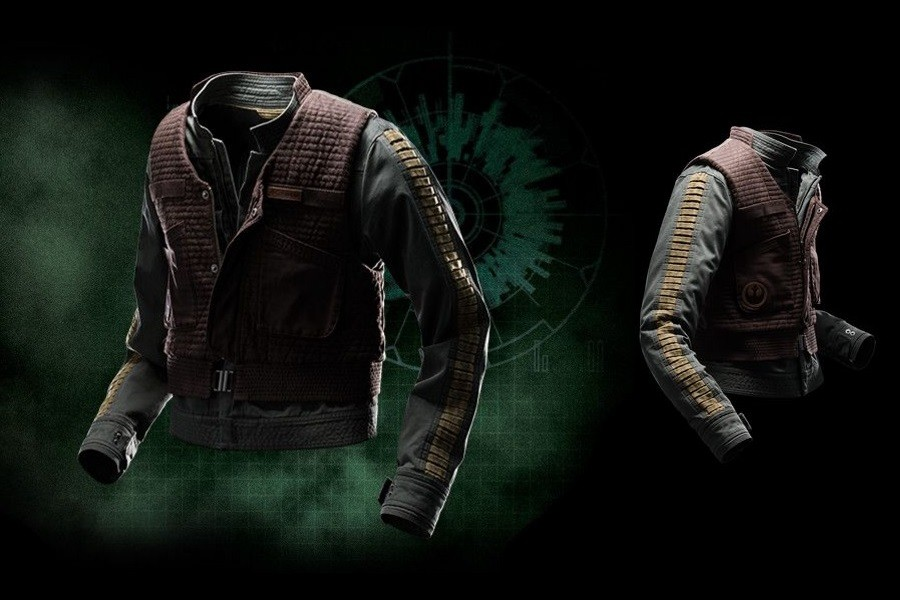 Columbia x Rogue One Jyn Erso jacket