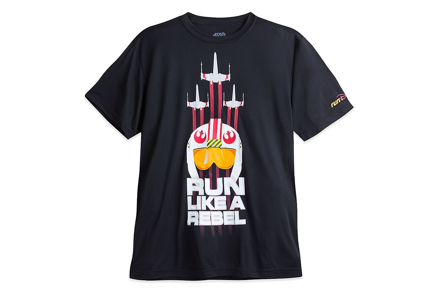 Women's Run Disney Rebel tee at Disney Store