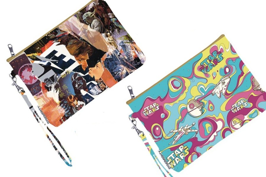 New Dynomighty x Star Wars wristlet purses
