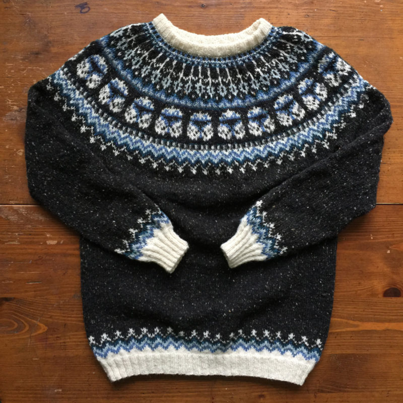 Hand knitted Captain Rex sweater available from Etsy seller Natela Datura Designs