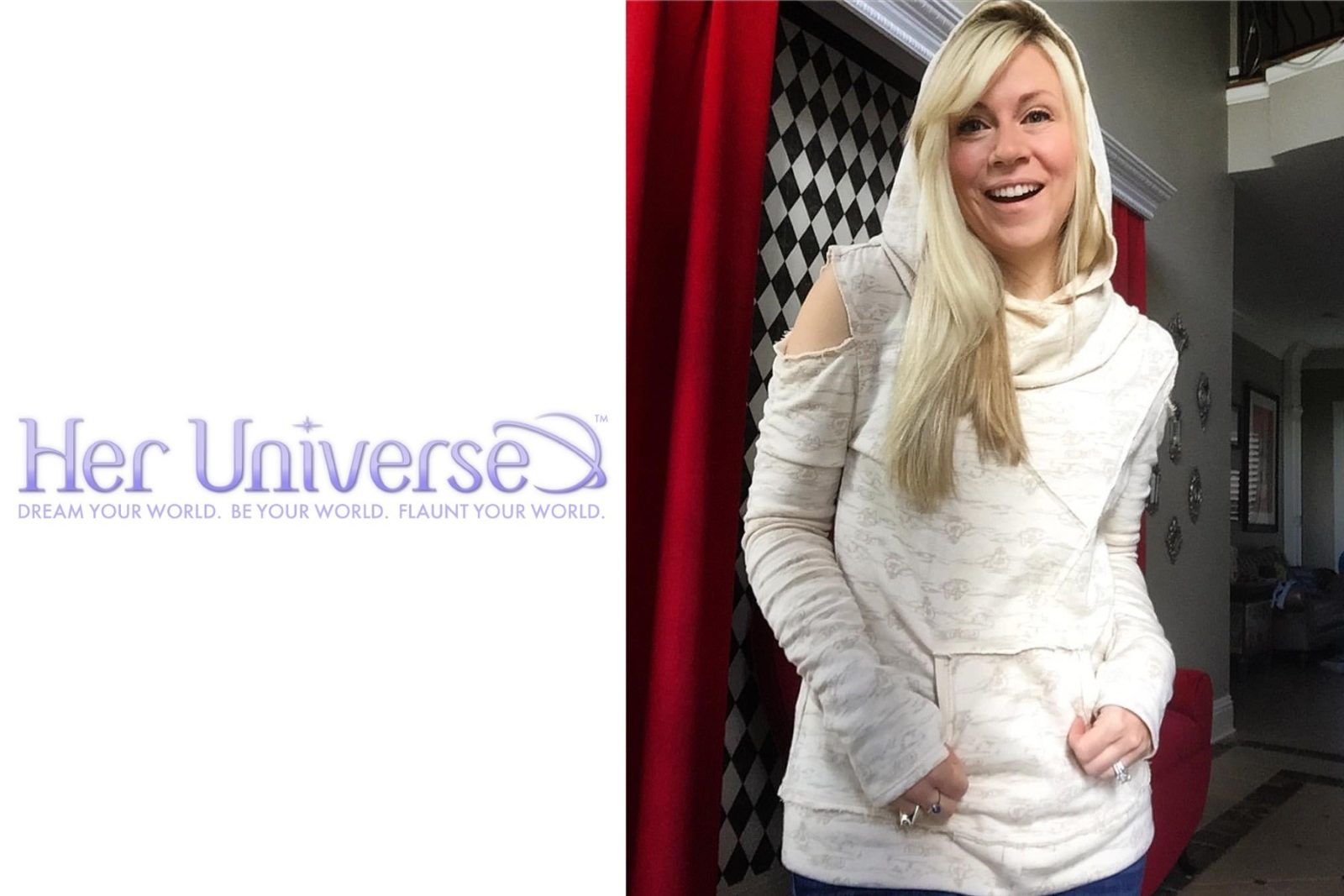 Her Universe Rey pullover hoodie coming soon!