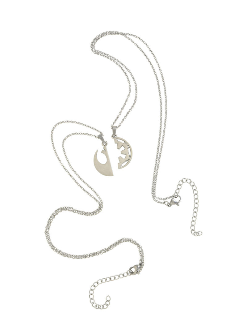 Body Vibe x Rogue One Best Friends necklace set available at Hot Topic
