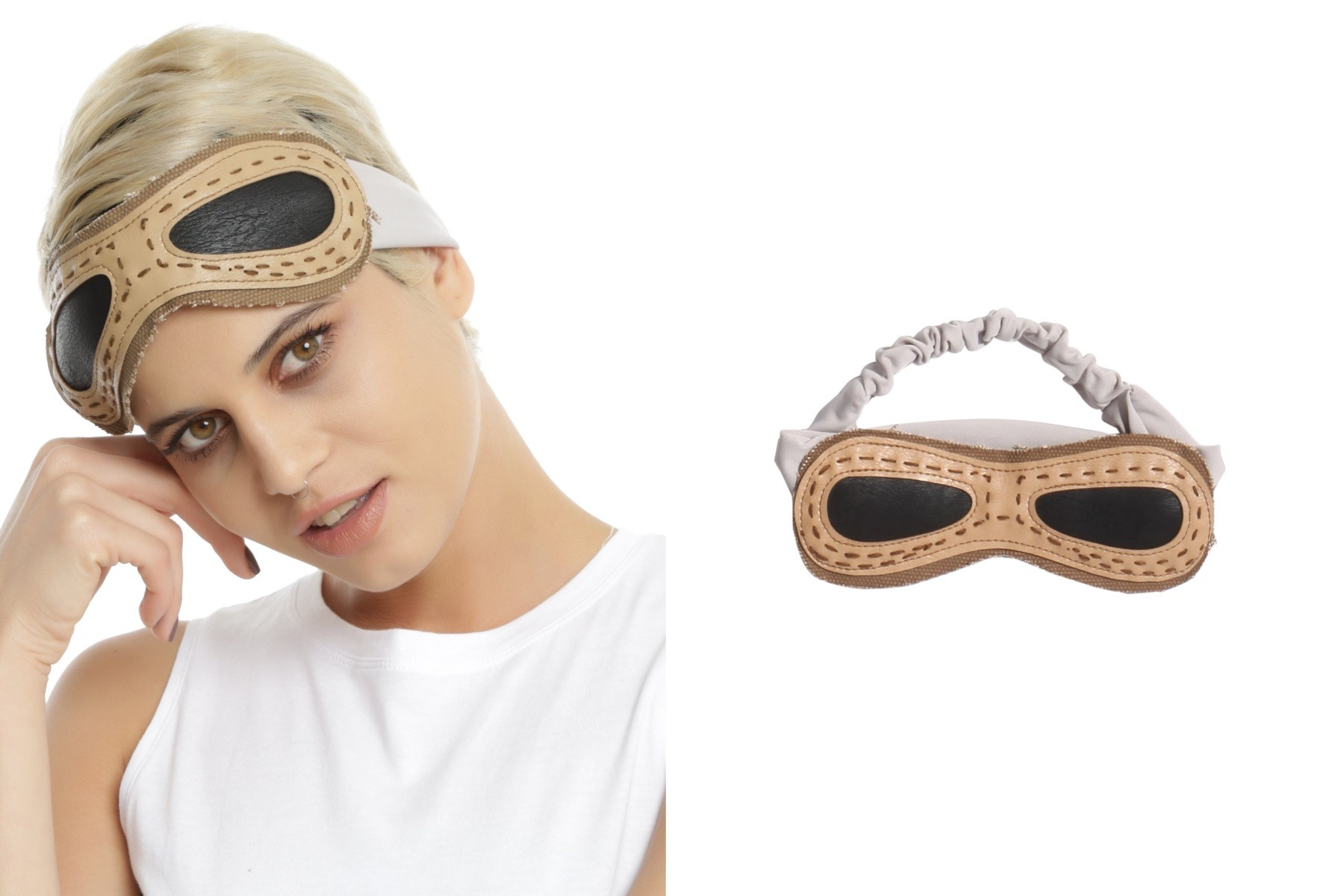 Rey goggles headband available at Hot Topic