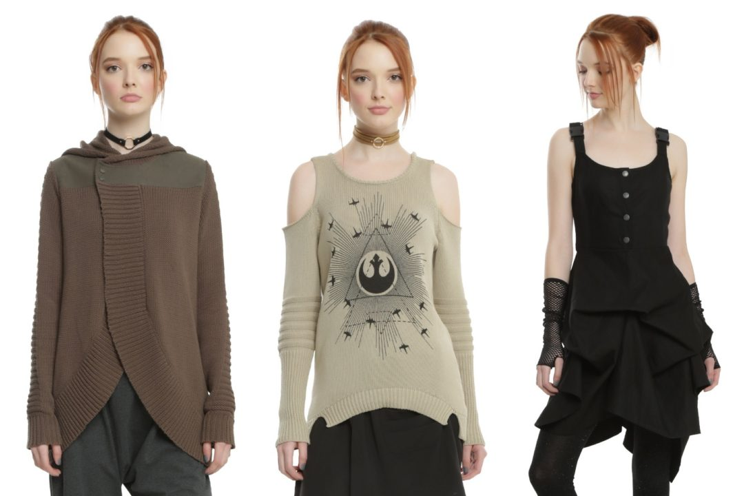 New Rogue One fashion collection available at Hot Topic