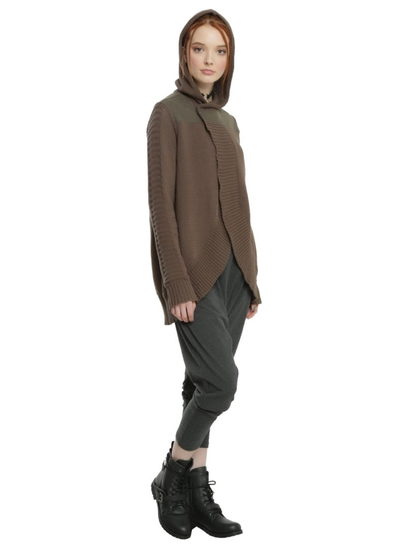 Women's Rogue One Jyn open cardigan available at Hot Topic
