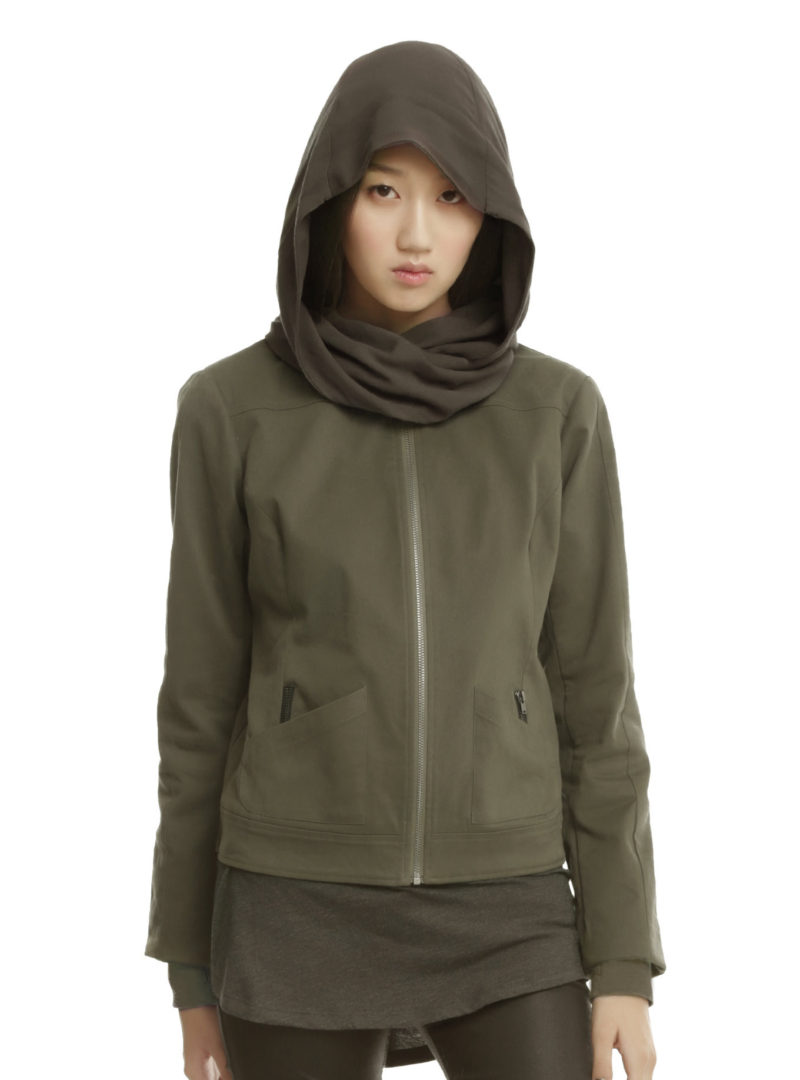 Women's Rogue One Jyn Rebel Alliance jacket available at Hot Topic