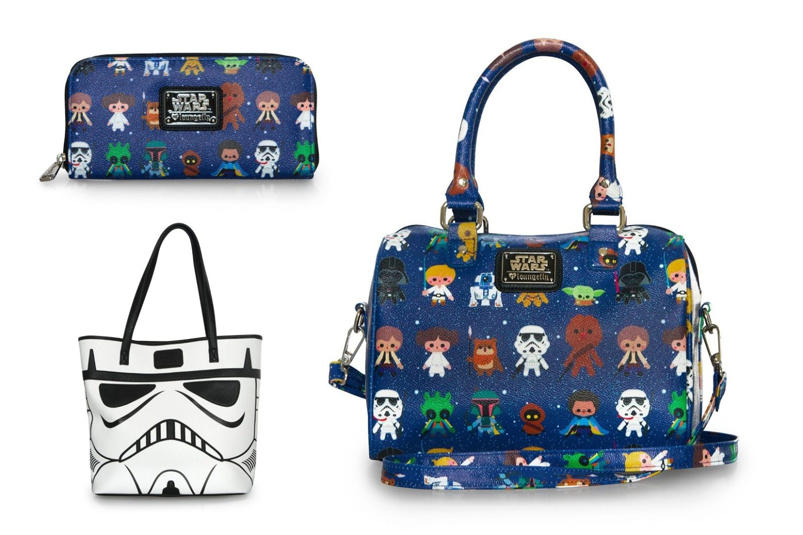 New Loungefly x Star Wars bags and wallets