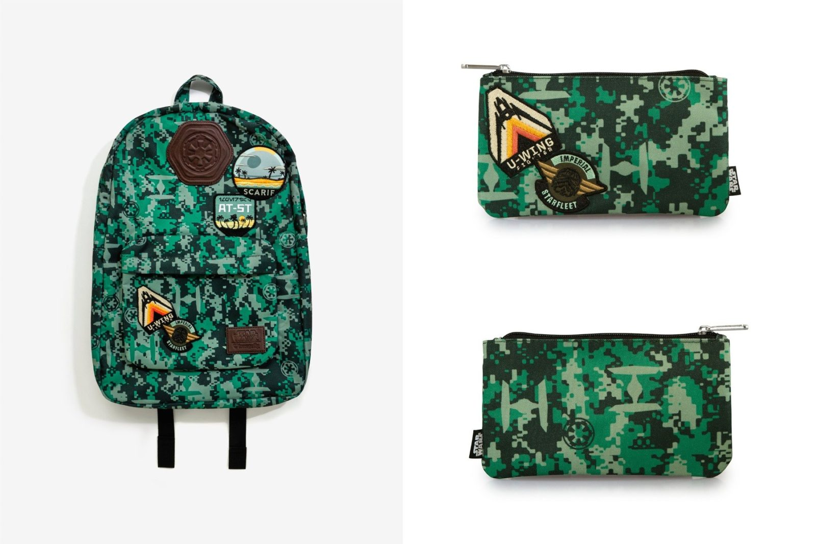 New Loungefly x Rogue One camo bags