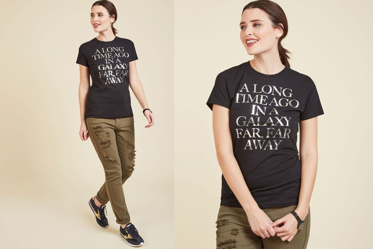 New Women's Star Wars tee at ModCloth