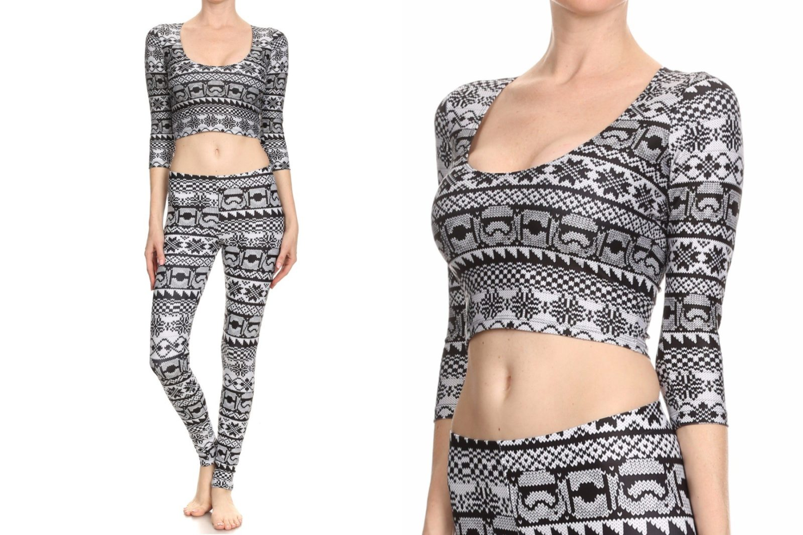 New Poprageous Trooper Fair Isle collection