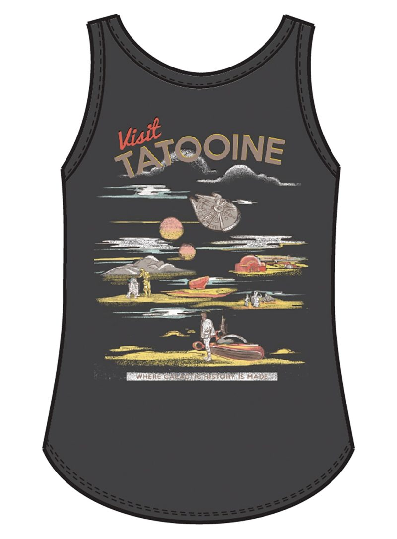 Her Universe x Star Wars Visit Tatooine tank top by Her Universe
