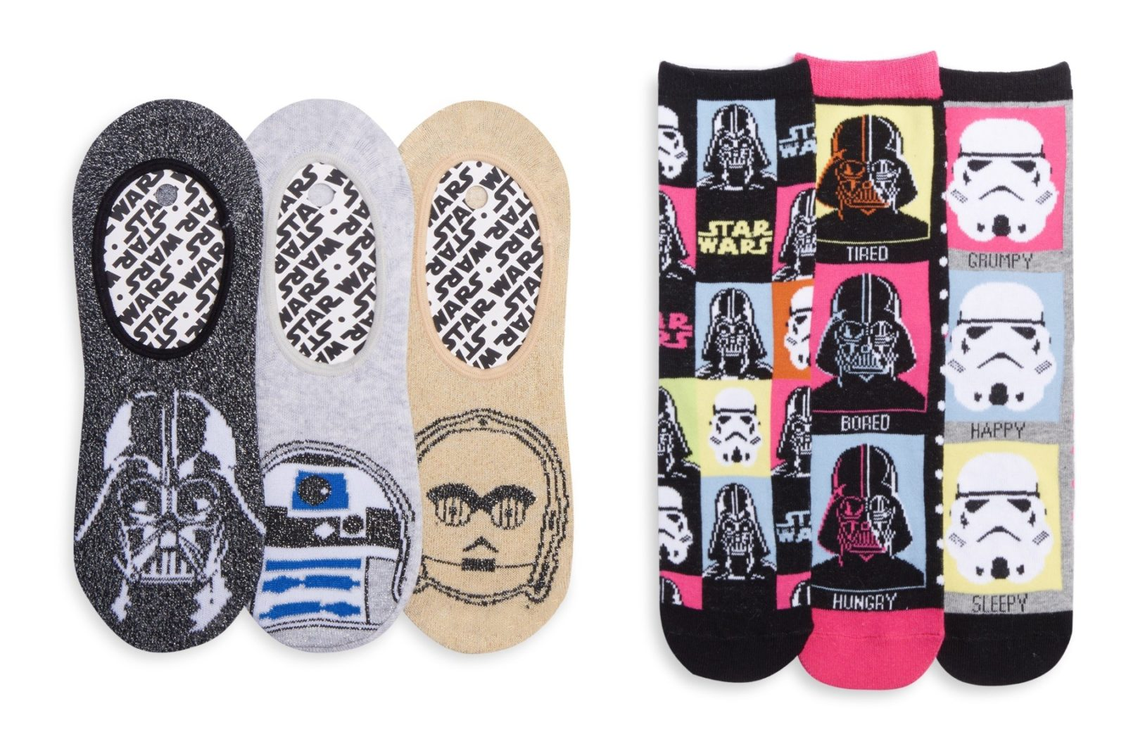 Women's Star Wars socks at Primark