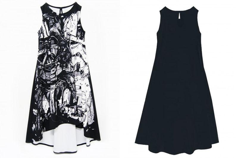 Sabrinagoh x Star Wars collection - Dark Side sketch dress