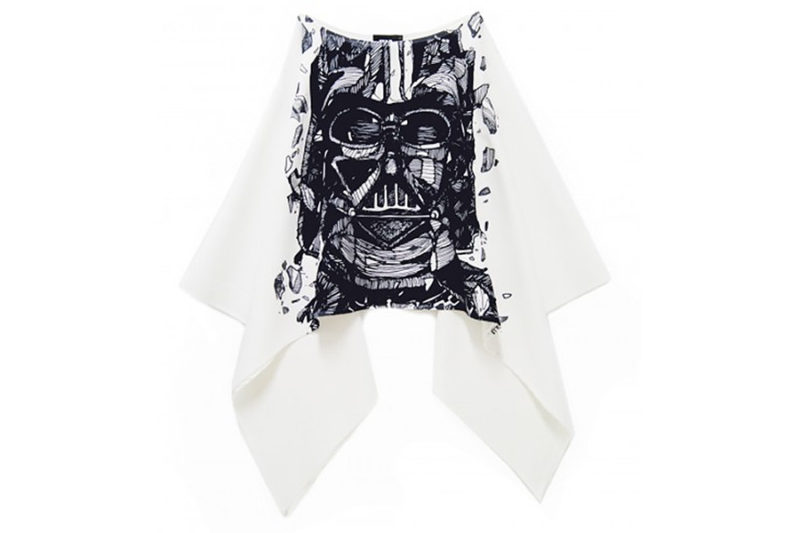 Sabrinagoh x Star Wars collection - Darth Vader cape top