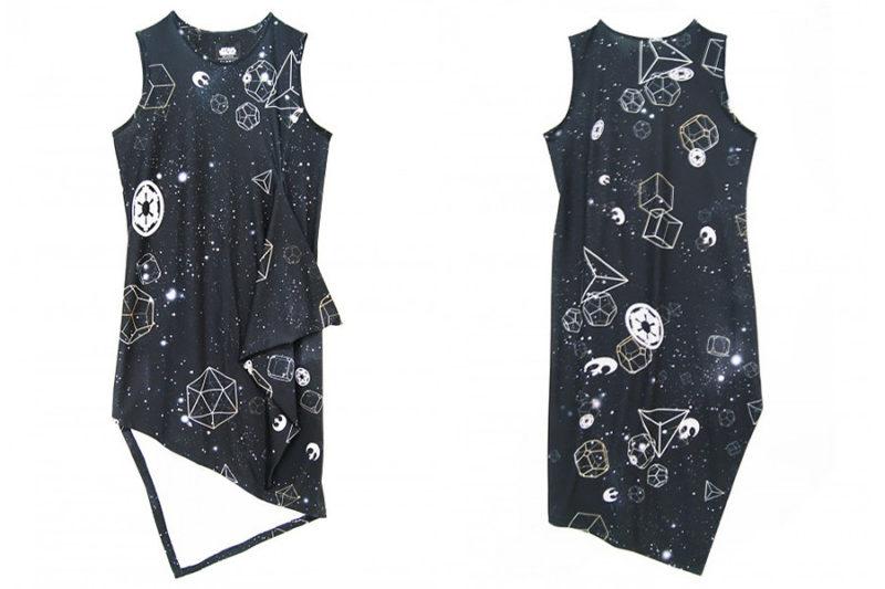 Sabrinagoh x Star Wars collection - The Galaxy asymmetrical dress