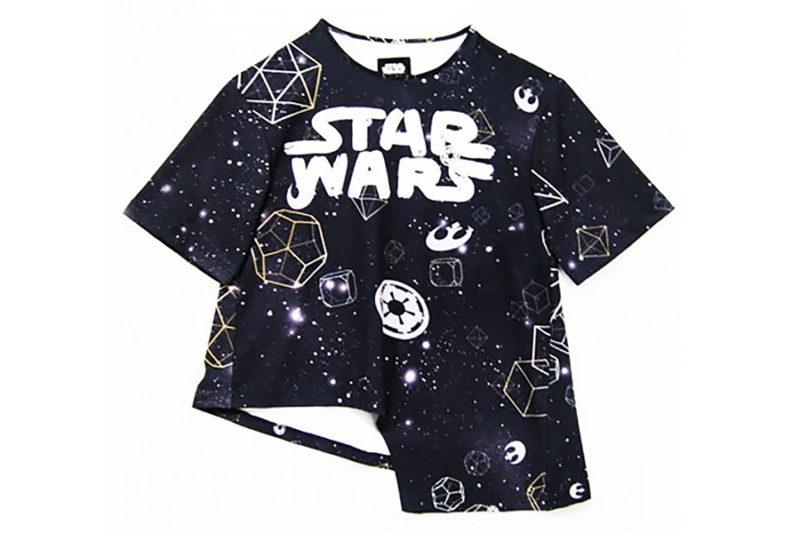Sabrinagoh x Star Wars collection - The Galaxy asymmetrical top