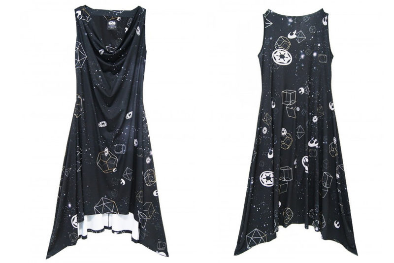Sabrinagoh x Star Wars collection - The Galaxy cowl neck dress