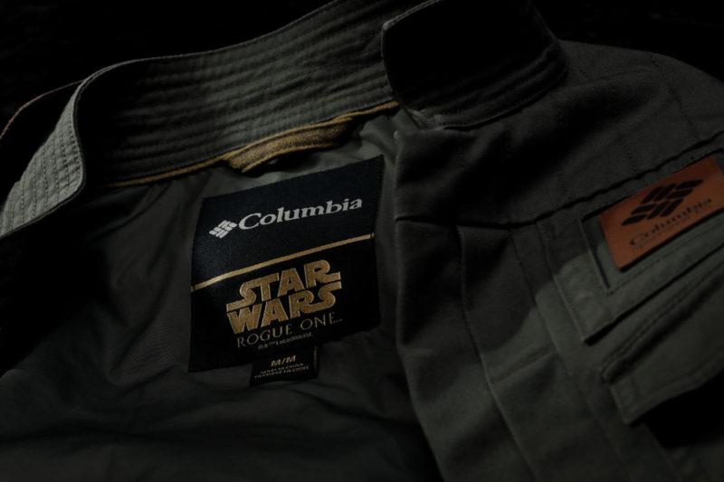 Columbia Sportswear x Star Wars Rogue One Jyn Erso jacket