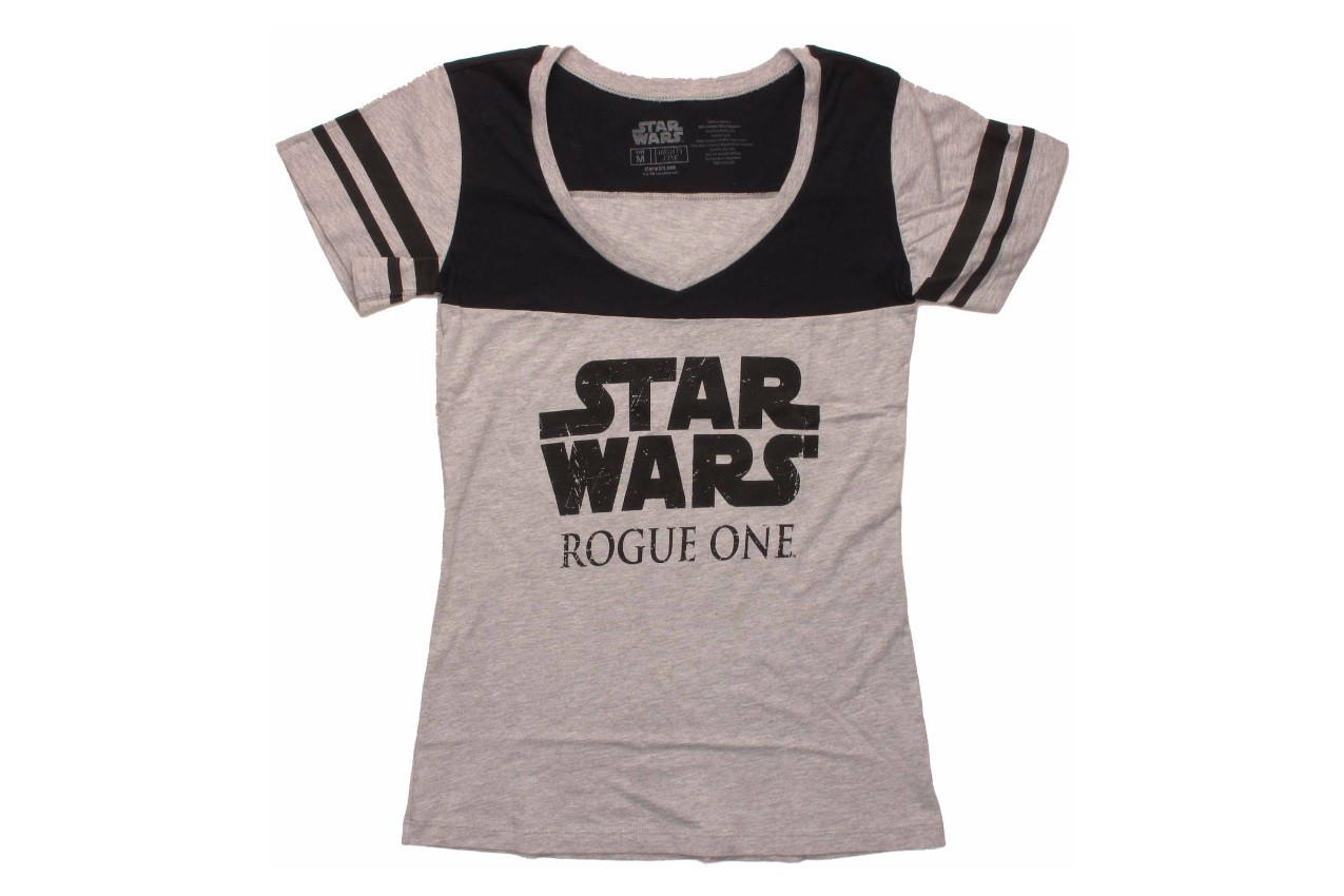 Women's Rogue One logo tee at Stylin Online