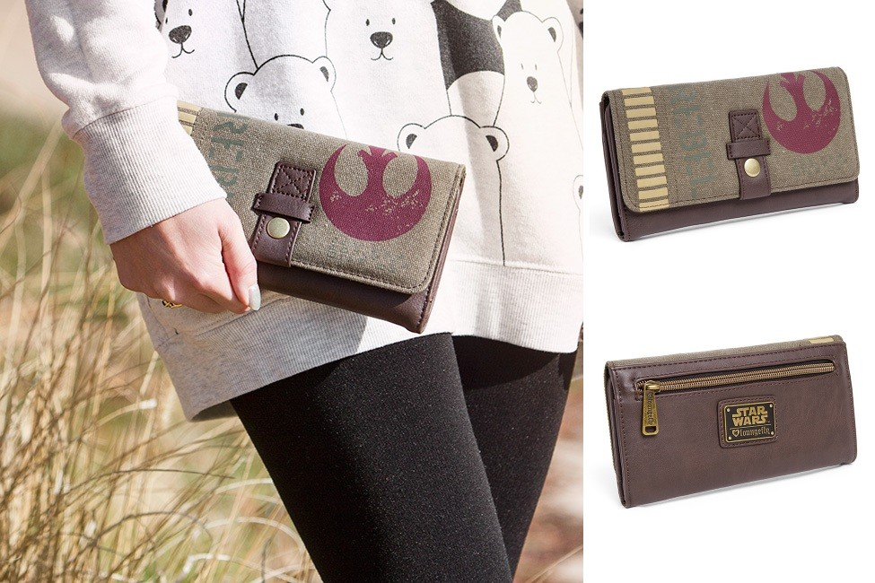 Loungefly Rogue One wallet at ThinkGeek