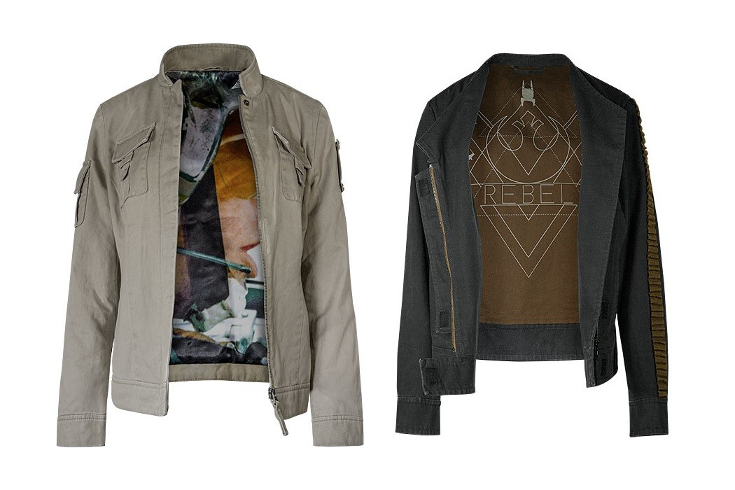 New Musterbrand jackets at ThinkGeek