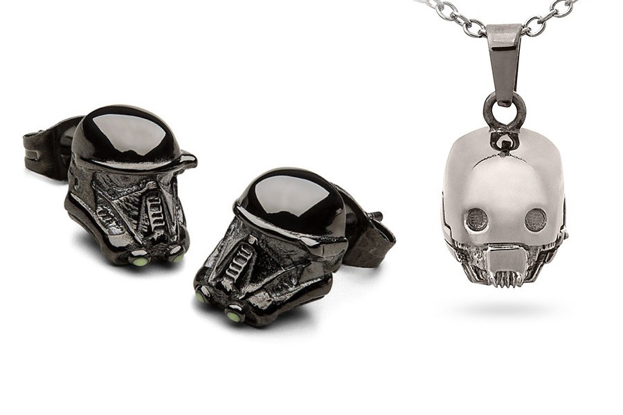 New Rogue One jewelry available at ThinkGeek