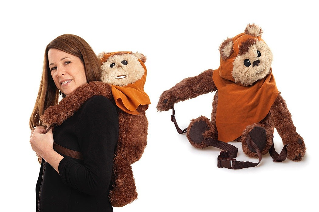 Cute Wicket backpack buddy at ThinkGeek
