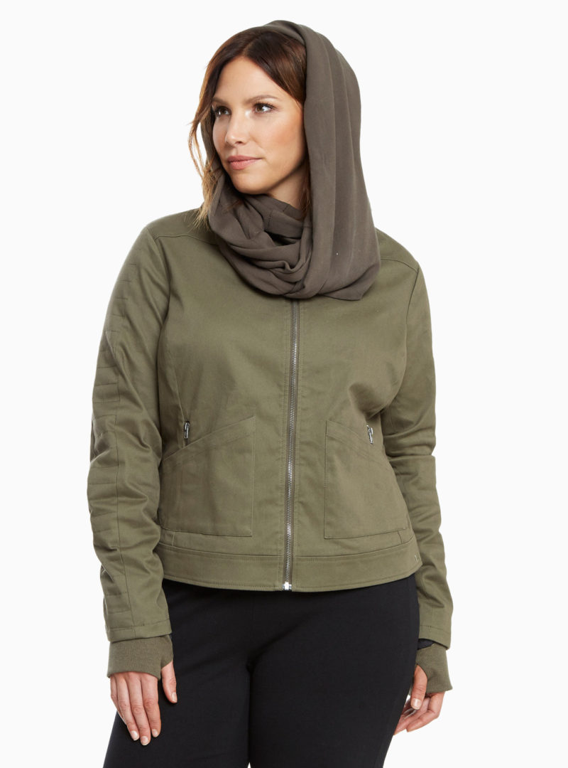 Women's plus size Rogue One Jyn Rebel Alliance jacket available at Torrid