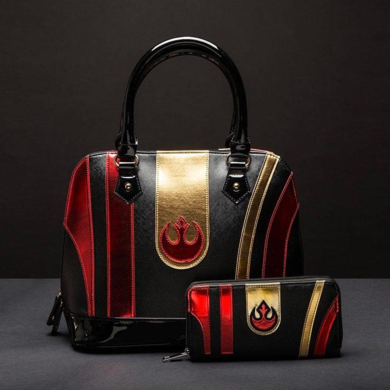 Star Wars Poe Dameron handbag and matching wallet made by Bioworld