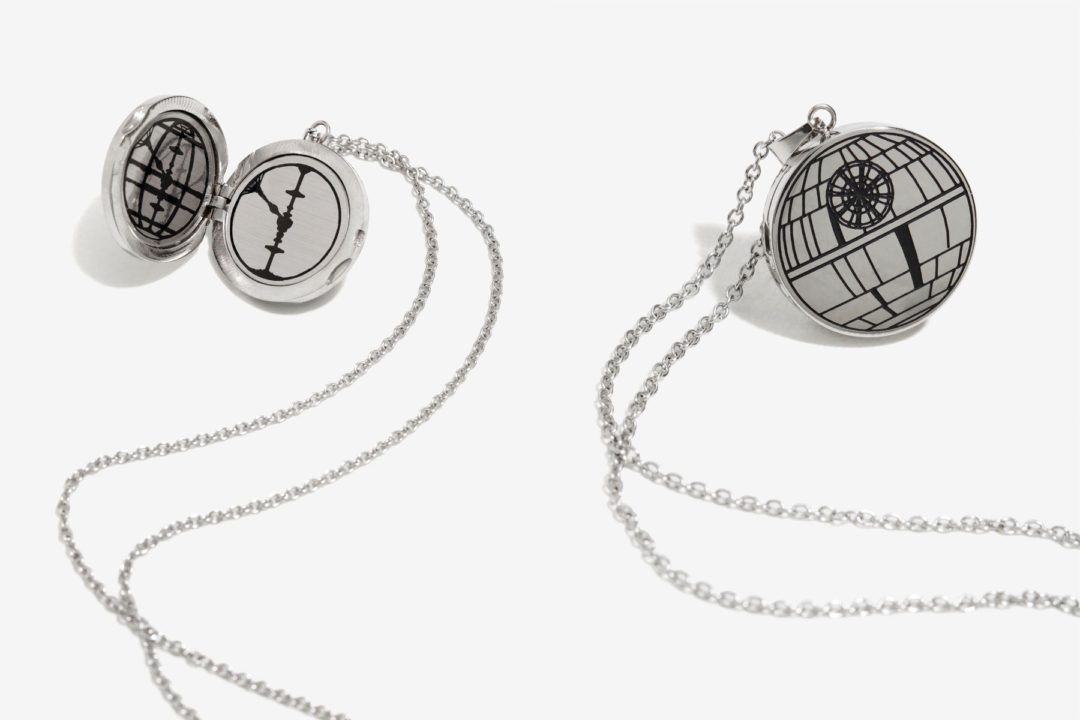 Star Wars Rogue One Death Star locket necklace available at Box Lunch