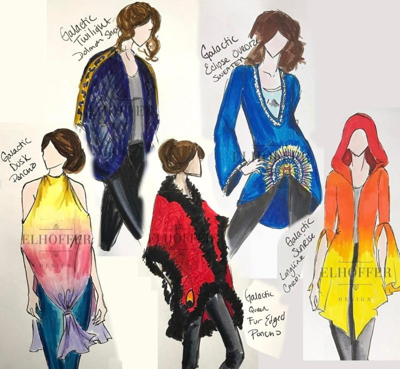 Padme' Amidala inspired designs by Elhoffer Design