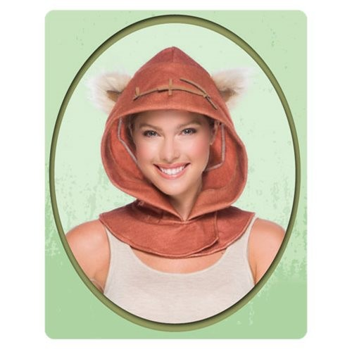 Everyday cosplay Star Wars Ewok hood available at Entertainment Earth