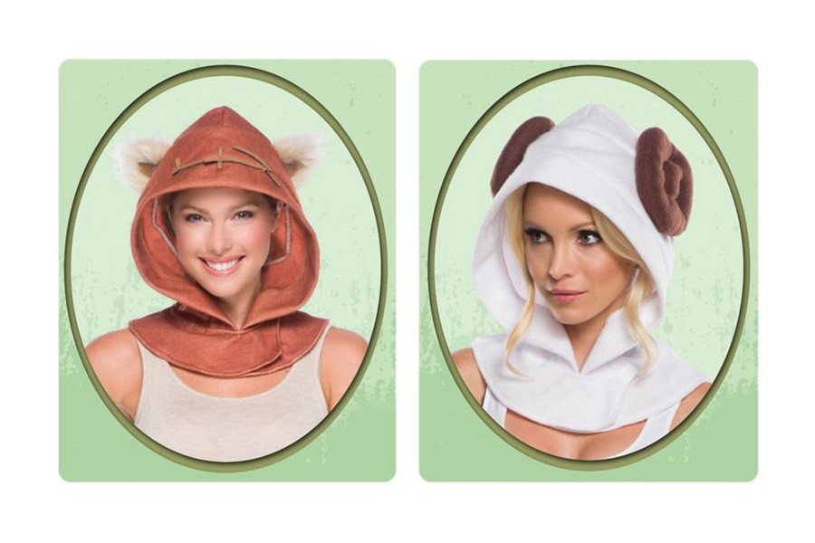 Everyday cosplay Star Wars character hoods