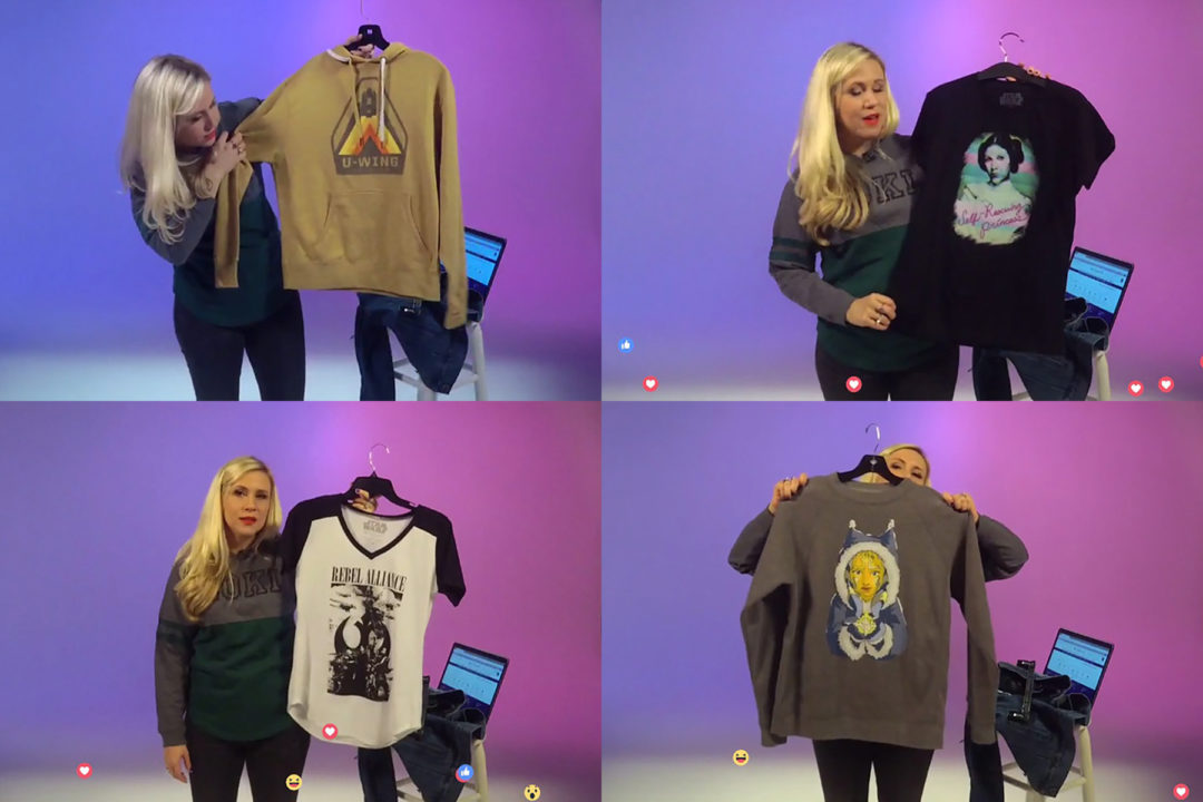 Her Universe live Facebook chat screencaps