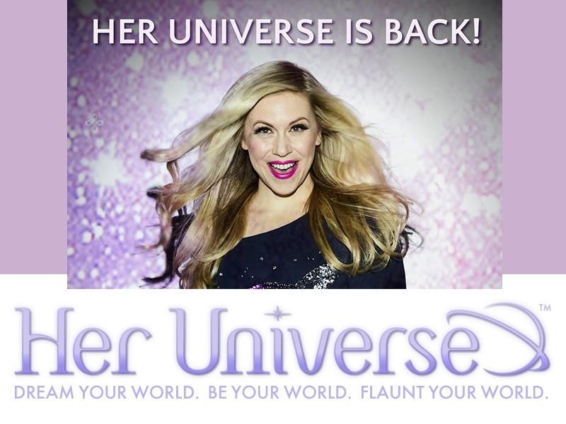 Her Universe website is back!