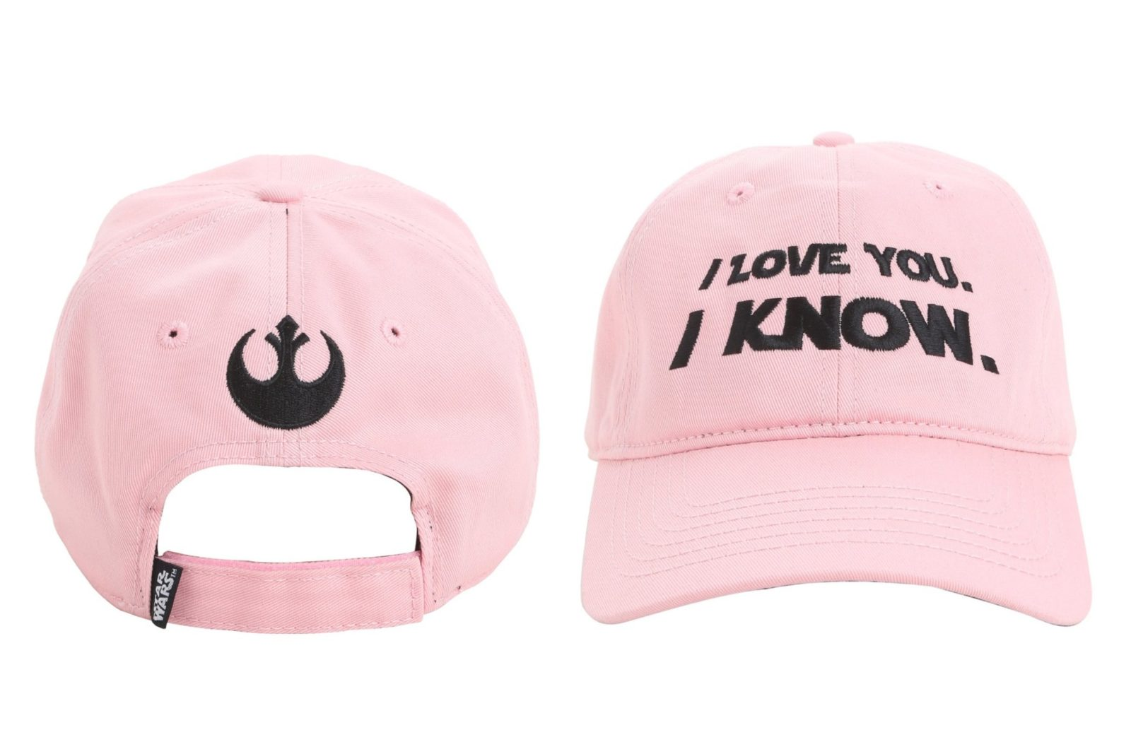 'I Love You' – 'I Know' cap at Hot Topic