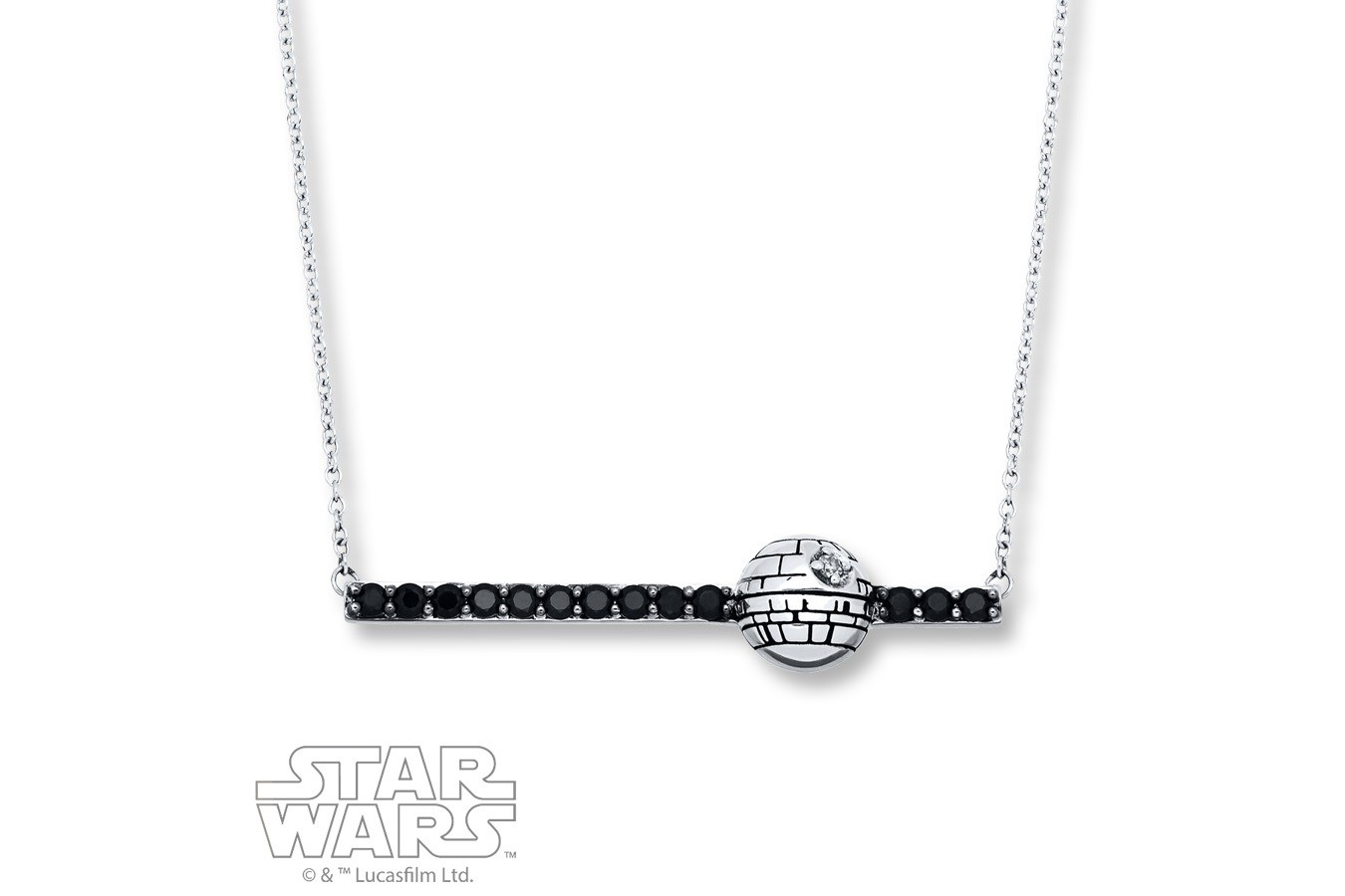New Death Star necklace from Kay Jewelers