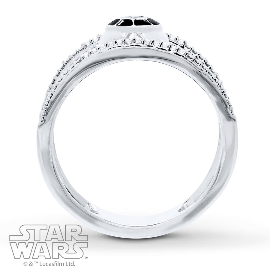 ring custommade wedding michael lightsaber rings engagement inspired paul design star wars